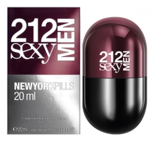 Carolina Herrera 212 Sexy Men Pills